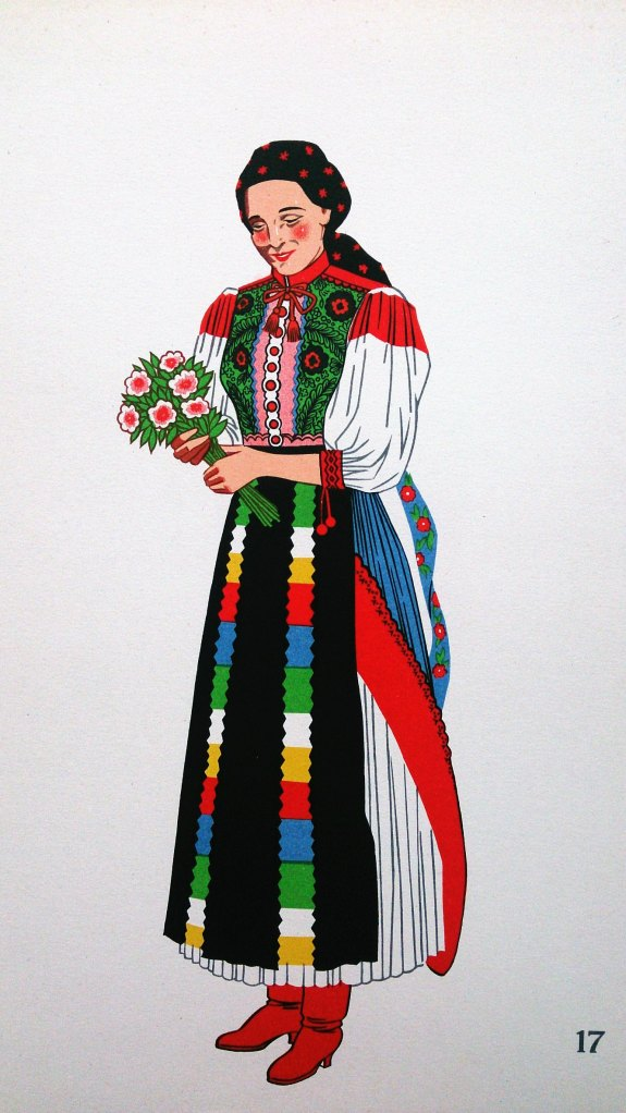 Woman from Kalotaszeg, Hungary