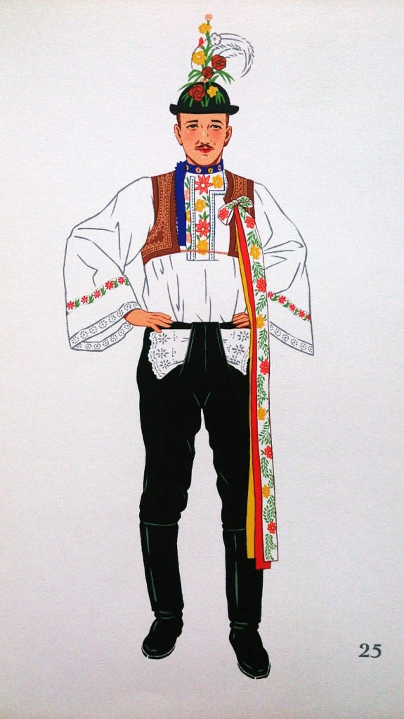 Costume from Kyjova, Czechoslovakia