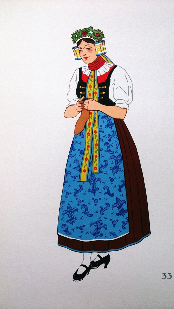 Jeune Fille de Haute-Silesie, Pologne (Young Woman from Silesie Poland)