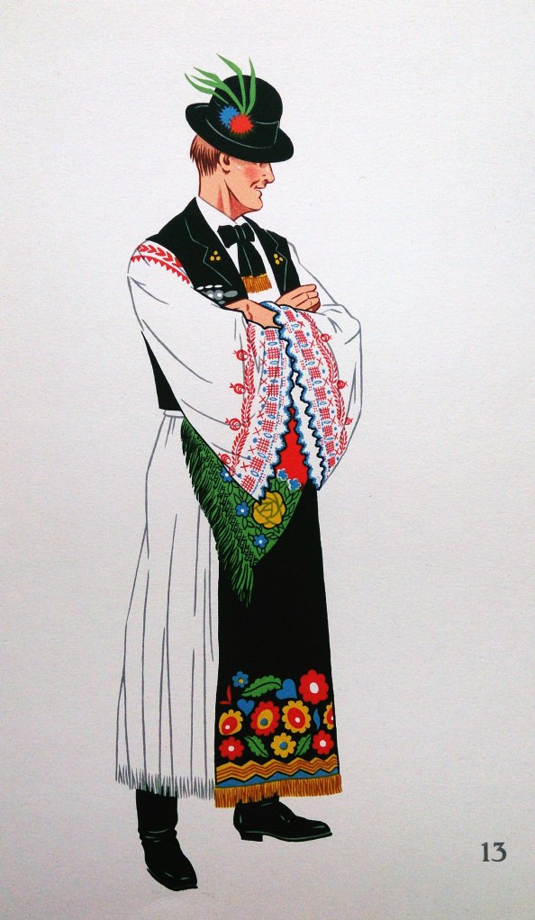 Jeune Paysan de Mezokovesd, Hongerie (Young Peasent from Mezokovesd, Hungary)