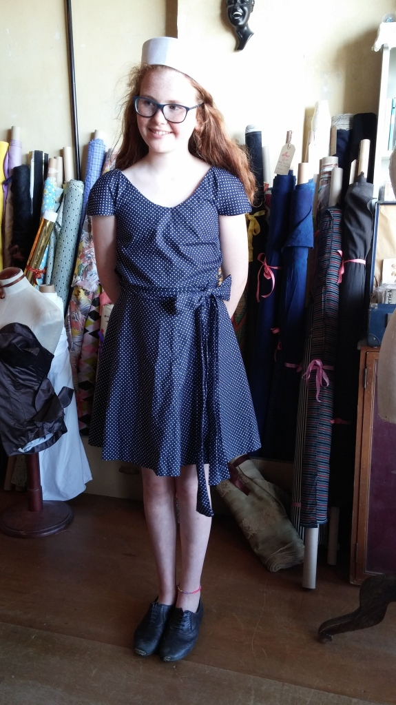 Karig has completed the Colette Pattern 'Crepe' ...